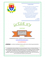 Le T.S.E n°4 avril 2020